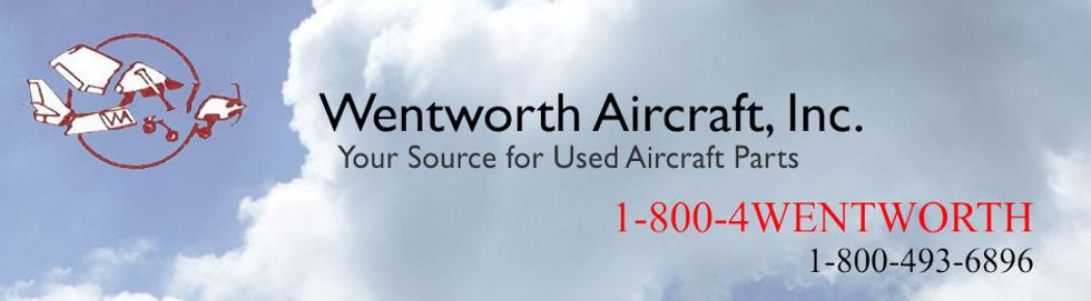 Used Aircraft Parts | Wentworth Aircraft | Used Cessna Parts | Used Piper Parts